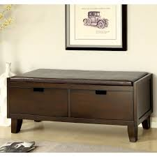 Padded Storage Bench Large Padded Storage Bench Home Romances