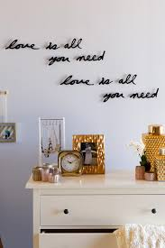 love is all you need wall decor francesca u0027s