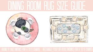 Dining Room Rug With ESaleRugs At Home With Ashley - Dining room rug size