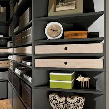 Corner Drawers Lori Tall Narrow Corner Bookcase In Graphite Cabinets Drawers U0026 Boo