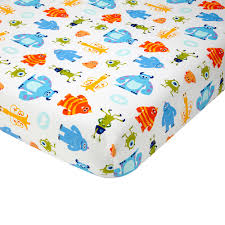 Disney Nursery Bedding Sets by Monsters Inc Premier Fitted Crib Sheet Disney Baby
