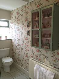 Wallpaper In Bathroom Ideas by Henhouse April Showers Wallpaper Pinterest Cath Kidston