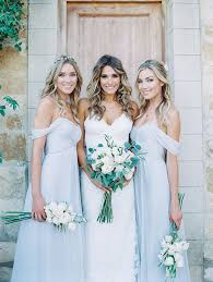 bridesmaids wedding dresses intimate summer sunstone villa wedding vaulting wedding dress