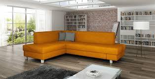 canapé d angle orange canapé d angle convertible lecoindumeuble