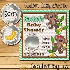 baby shower scratch off tickets baby shower decoration