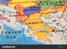 World Map Greece by Greece On Atlas World Map Stock Photo 226274704 Shutterstock