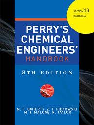 perry u0027s chemical engineers handbook 8th ed sec 13