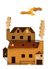 haunted houses clipart haunted houses on behance