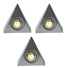 led under cabinet lighting warm white 3 pack triangle led under cabinet shelf light warm white