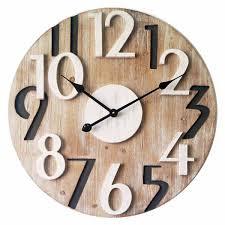 Grande Horloge Murale Carrée En Bois Vintage Achat Tres Grande Horloge Murale Fashion Designs
