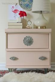 Vintage Nightstands Before After Blush Colored Vintage Nightstands Phoenix
