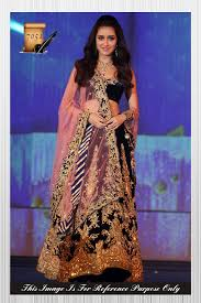 exclusive ethnic indian latest navy blue color bollywood designer