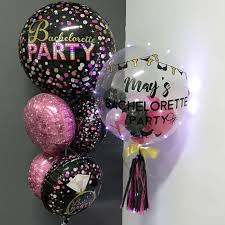personalized balloons bachelorette party 24 inch personalized balloon stuffed