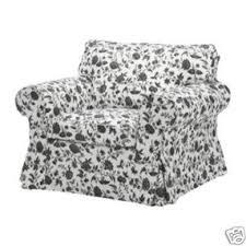 Ektorp Armchair Ikea Ektorp Armchair Cover Hovby White Black By Ebay Olioboard