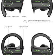 doy waterproof bluetooth sports 4 1 headphones wireless amazon co