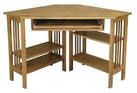 mission style computer desk amish office furniture mission corner