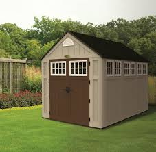 Backyard Storage Units Ideas U0026 Tips Appealing Suncast Storage Shed For Home Outdoor