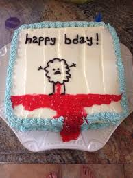 Happy Birthday Cake Meme - 19 disturbing birthday cakes that will make you wish you weren t born