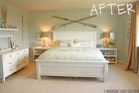 beach style beds coastal cottage bedroom meadow lake road lentine marine 70834