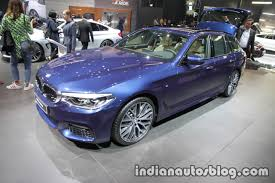 bmw 5 series touring showcased at iaa 2017 live