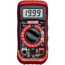 Crafstman by Craftsman Digital Multimeter With 8 Functions Slickdeals Net