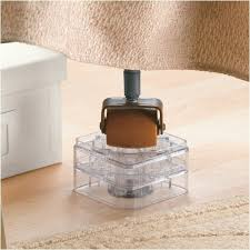 bed risers ikea raise its 8 pack clear furniture risers for the bed desk