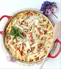 Make Ahead Dinner Party - make ahead three cheese baked ziti w springtime veggies wry toast