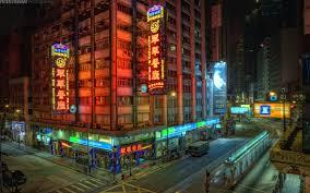 hong kong city nights hd wallpapers photo collection wallpaper streets of hong