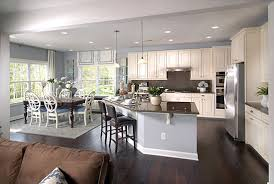 open floor plan living room and kitchen charming oh to be able see what my children are doing in the