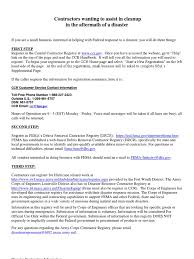 fema help desk phone number diaster contract script government procurement in the united