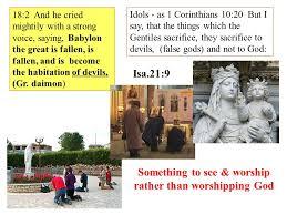 revelation 18 babylon destroyed revelation 17 the woman city