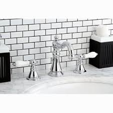 Bathroom Wall Faucet by 3 Hole Bath Faucets You U0027ll Love Wayfair