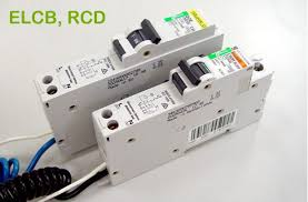 working principle of earth leakage circuit breaker elcb and