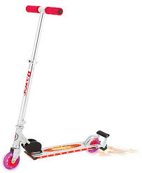 razor kick scooter light up wheels amazon com razor a lighted wheel kick scooter pink sports kick