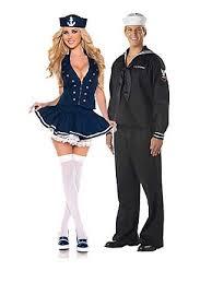 Bettie Halloween Costume Womens Sailor Costume Navy Ship Captain Halloween Fancy Dress