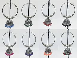 jhumki earring new design indian ethnic oxidised silver