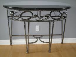 Glass Hallway Table Best Glass Hallway Table With Table Granite Or Glass Top