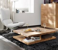Living Room Awesome Modern Coffee Tables Ideas With Low Table - Wood coffee table design