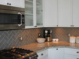 herringbone kitchen backsplash interior beautiful gray subway tile backsplash home best images