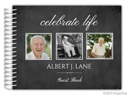 funeral guest books black photo frames funeral guest book 8x6 funeral guest books