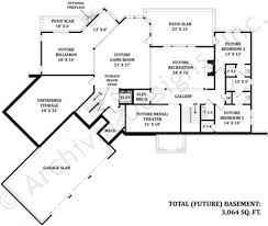 Daylight Basement House Plans by Mayberry Place Retirement House Plan In Law Suite