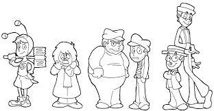 el chavo del ocho para colorear pinto dibujos personajes de chespirito para colorear