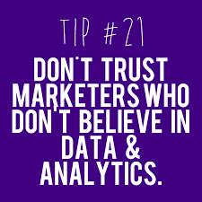 Meme Media - tip21 social media dont trust marketers who dont use analytics