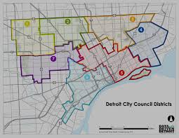 Los Angeles City Council District Map by Information By District My Corktown My Detroit Pinterest
