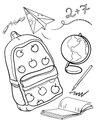printable first day of coloring page free pdf download at