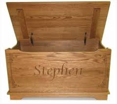 personalized toy box chest foter