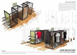 clothing store equipment by john wrightson at coroflot com