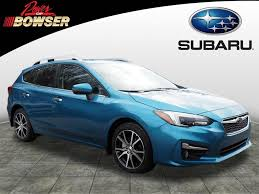 2017 subaru impreza sedan blue featured vehicles at bowser subaru don u0027t miss these deals