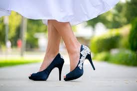 wedding shoes blue navy blue wedding shoes wedding corners