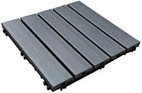 Wood Patio Flooring by U Sen Tree Pure Ps Outdoor Deck U0026 Patio Flooring Interlocking